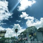 天草本渡で猛暑日