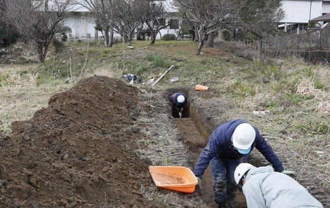 「天草コレジオ」遺構探せ 河浦町で初の発掘調査始まる