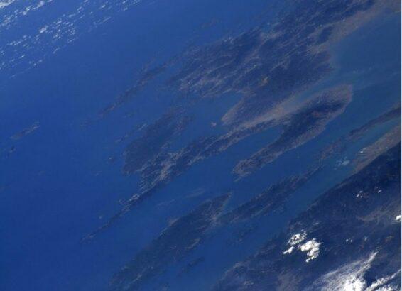 ISSから撮った天草が話題