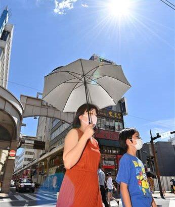 天草市牛深で36・8度 熊本県内9地点で今年最高気温